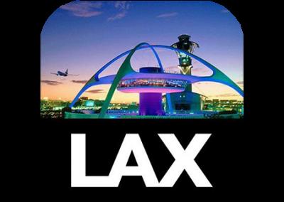 LAX Airport PSA Displays